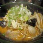 味源 - 味噌オロチョンラーメン(850円)