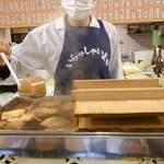 Yakitoriosen daisansei - カウンター席の真ん前におでん鍋が!