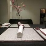 日本料理 TOBIUME - 席