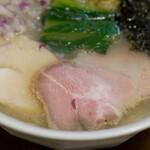クラム&ボニート 貝節麺ライク - 旨みはたっぷり