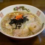クラム&ボニート 貝節麺ライク - 肉煮干し生姜
