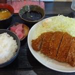 Sakuton - 上ロースかつ定食