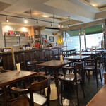 小さな街の食堂 cafe MISTY - 店内の様子です