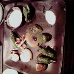 炉端 さんじ - 焼き野菜の盛り合わせ