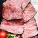 ビストロ バンケット - 黒毛和牛A5ステーキ弁当