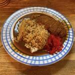 まるきん - 料理写真:カツカレー