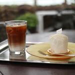 フレベールラデュ - 2020年5月再訪:カフェ・オレ&ブラン☆