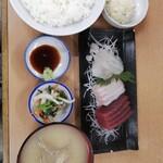多け乃 - お刺身定食 1300円