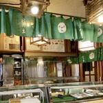 日の出寿司 - お店 内観