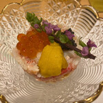 Sushiurayama - 渡り蟹と雲丹、いくら、キャビアのせ