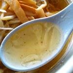 130272777 - 海と鶏の塩らぁめんスープ