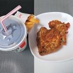 ケンタッキーフライドチキン - 料理写真:ランチFオリジナルチキンセット700円
