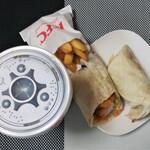 ケンタッキーフライドチキン - 料理写真:ランチAツイスターセット500円