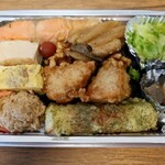 千味家 - のり鮭弁当(700円)