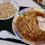 中華 幸軒 - ラーメンと半チャーハンセット(1000円)