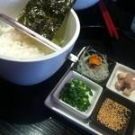 たいせい - 醤油らー麺(醤油らー麺雑炊用ご飯)