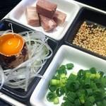 たいせい - 醤油らー麺雑炊の具