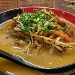 麺場 鶏源 - 鶏白湯スパイシーカレー麺 Ver.3