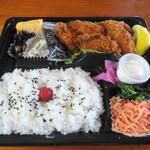レストラン ふじ - カキフライ弁当