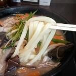 讃岐屋 - 麺アップ