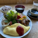 ファームレストラン野島さんち - 週替わりプレート1280円