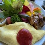 ファームレストラン野島さんち - プレートのアップ