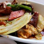 130285774 - 春キャベツの回鍋肉定食