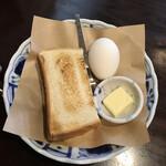 ジロー珈琲 - ブレンド珈琲+無料モーニングセット+20%割引369円