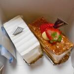 クレーシェル - 料理写真:購入したケーキ