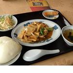 龍泉飯店 - 日替わりランチ¥700