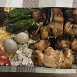 とりとんたん - 料理写真:焼鳥弁当