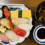 130291681 - お寿司10貫