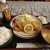 ドライブインみゆき - 料理写真:かつ定食¥900