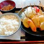 Kushikatsudengana - ランチC定食980円