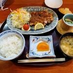 魯はん - 唐揚げ定食(ネギソース)900円