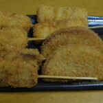 串カツ田中 - 肉串8本盛り