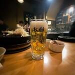アルコ - ジンギスカン アルコ@狸小路 生ビール