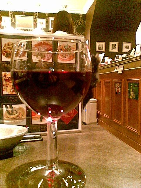 ブラッスリー・レカン・キャフェスペース - グラス赤ワイン