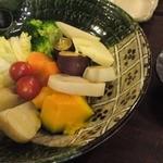 13030560 - 9種類の彩り温野菜780円