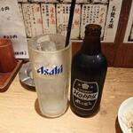 肉の佐藤 - 2020年4月 金宮黒ホッピー 480円+税