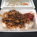 満腹デリ - 料理写真:焼肉弁当(ご飯小盛)