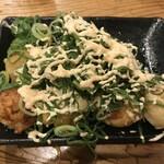130305743 - たこ焼き8個_ねぎ塩明太マヨ(1個食べちゃった)