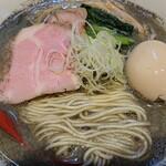 中華そばや 和凡 - 料理写真:純煮干ラーメン¥800+味玉¥100