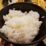 個室・鶏ざんまい 十四郎 - ご飯