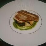 NAOMI - 丸茄子のモッツァレラグラタン 山形の真鯛