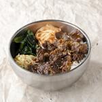 上カルビ丼/Premium Kalbi with rice