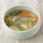 コムタンスープ/Beef tail soup