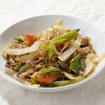 チャプチェ/Stir fried Gelatin noodle