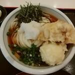 手打うどん 長谷沼 - 料理写真:鶏玉天ぶっかけうどん(並盛)