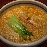 知味笑龍 深澤ラーメン - お願いして温かいタンタンメンを作っていただいた。